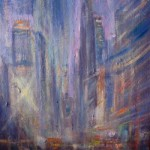 """Olio su tela  40cm x 50cm  Collezione dell'artista Oil on canvas   16"""" x 20""""   Artist's collection"""
