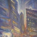 "Olio su legno  30cm x 40cm  Galleria Pontalti Oil on wood   12"" x 16""   Pontalti Gallery"